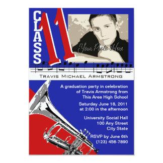 Graduation Music/ Trumpet Card