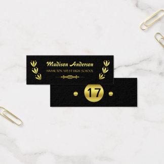 graduation inserts business cards templates zazzle. Black Bedroom Furniture Sets. Home Design Ideas