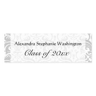 Graduation Name Card Set Senior Class Keepsake Business Card