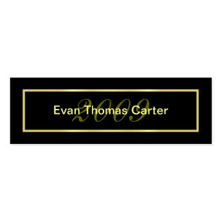 Graduation Name Cards Double-Sided Mini Business Cards (Pack Of 20)