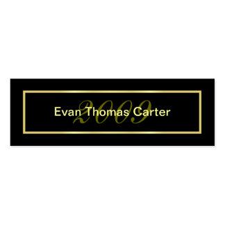Graduation Name Cards Business Card Templates