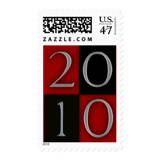 Graduation / New Years 2010 Design Template Postage Stamp