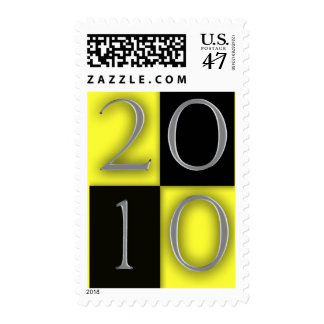 Graduation / New Years 2010 Design Template Stamp