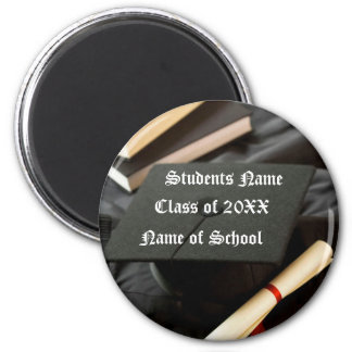 Graduation Novelty Items 2 Inch Round Magnet