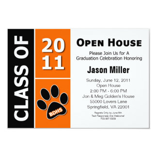 Graduation Open House Card