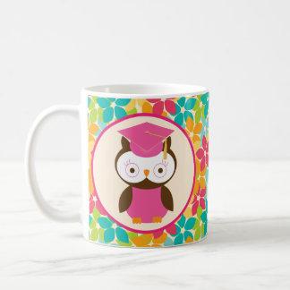 Graduation Owl Grad Gift Idea Coffee Mug