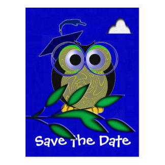 Graduation Owl Post Cards