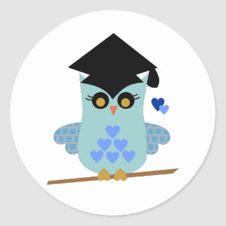 Graduation Owl Stickers