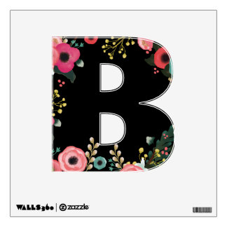 Graduation Party Custom Capital Letter Wall Decal