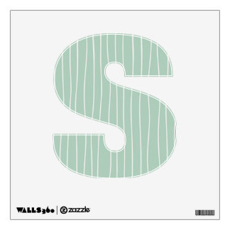 Graduation Party Custom Capital Letter Wall Decals