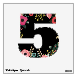 Graduation Party Custom Number Wall Decals