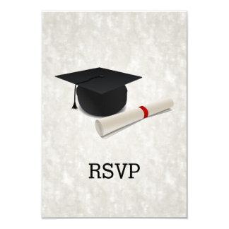 Graduation Party Diploma Customizable RSVP Reply Card