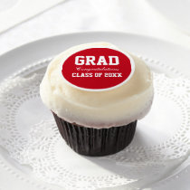 Graduation Party Frosting Sheet Red