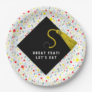 graduation party ideas paper plate