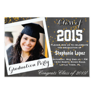 Graduation Party 3.5x5 Paper Invitation Card