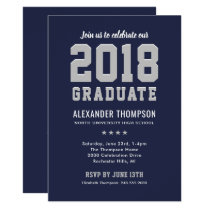 Graduation Party Invitation | 2018 Graduate