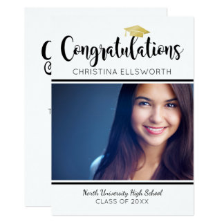 Graduation Party Invitation | Congratulations Grad
