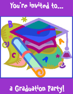 Middle school graduation invitations announcements zazzle graduation party invitation grademiddle school filmwisefo