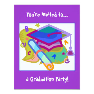 Graduation Party Invitation - Grade/Middle School