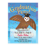 Graduation Party Invitation (Owl Design)