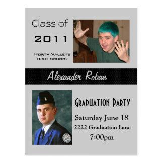 Graduation Party-Invitation Postcard