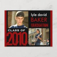 Graduation Party Invitation Postcards
