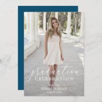 Graduation Party Invitation Script with Photo
