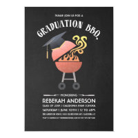 Graduation Party Invitations | BBQ Party