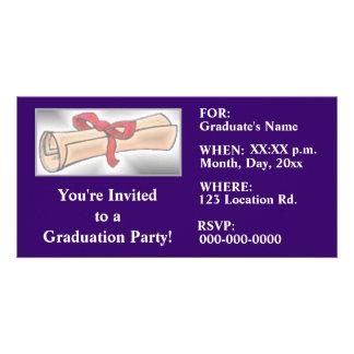 Graduation Party Invitations Photo Card