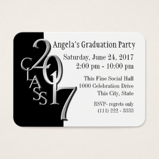 Graduation Party Photo Insert Card 2017