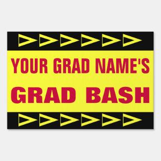 Graduation Party Lawn Signs