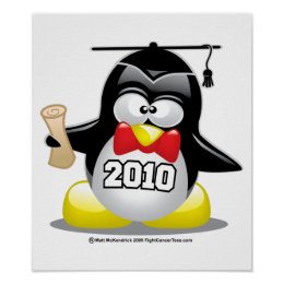 Graduation Penguin 2010 Poster