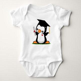 Graduation Penguin Baby Bodysuit