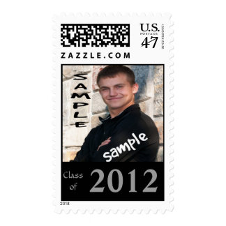 Graduation Photo 2012 Announcement Postage