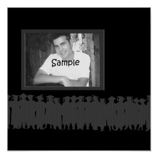 Graduation Photo Autograph Poster