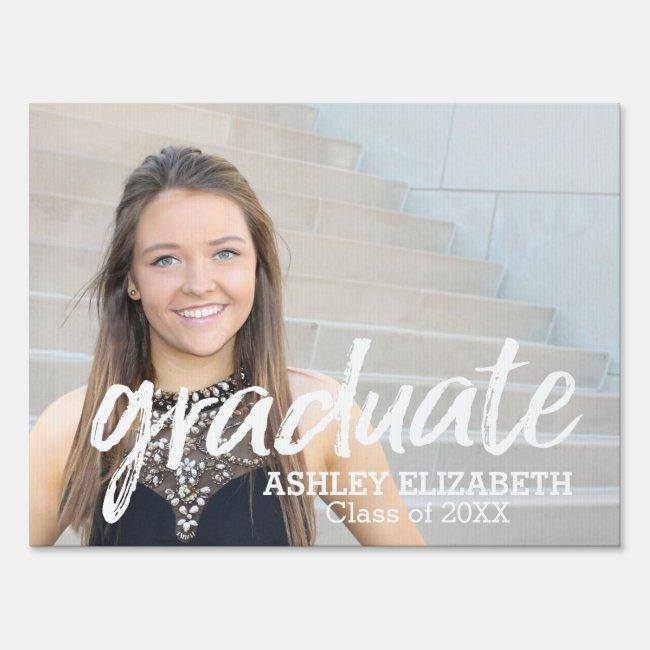 Graduation Photo - Class of Add Year - Virtual Sign