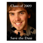 Graduation Photo Invitation-Change to Current Year Postcard