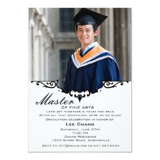 Graduation Photo Mantel Invitation