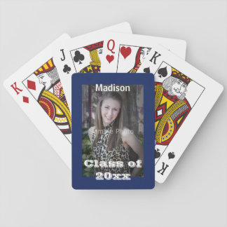 Graduation Photo Playing Cards