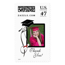 Graduation Photo Postage Stamps
