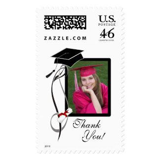 Graduation Photo Postage Stamps