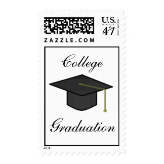 Graduation - postage stamps