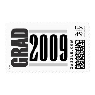 Graduation postage stamps 2009 silver