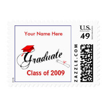 Graduation Postage Stamps - Class of 2009