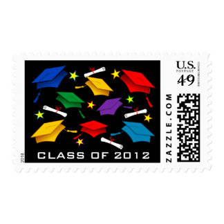 Graduation Postage Stamps - Class of 2012