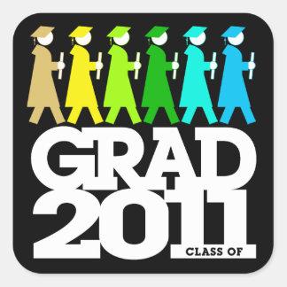 Graduation Processional Class of 2011 Sticker Colo