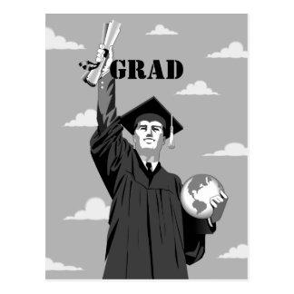 Graduation Products Postcard