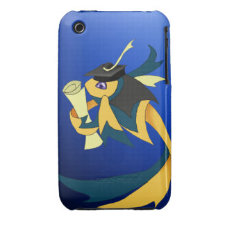 Graduation Ribbon Fish IPhone 3G 3Gs Cover iPhone 3 Cases