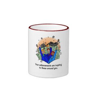 Graduation Ringer Coffee Mug