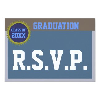 Graduation RSVP Card
